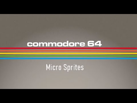 Directitos in the Middle of the Night: Microsprites Vol.2 - C64 Real 50 Hz #Commodore 64 Club videos