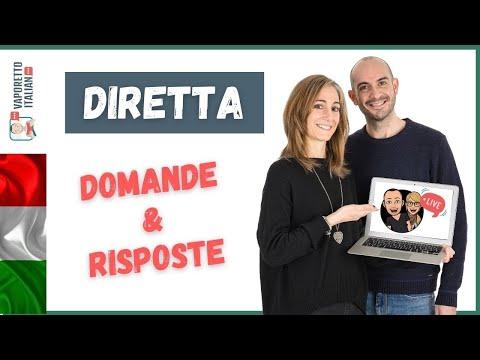 Una diretta con Giulia   Rispondiamo alle tue domande   Impara l'italiano con Vaporetto Italiano