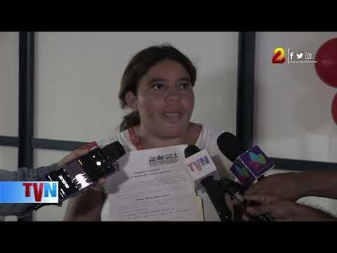 Madre de familia recibe nueva vivienda en barrio Carlos Núñez del Distrito II de Managua