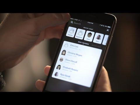 Snapchat's new user-friendly design