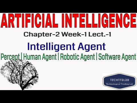 Artificial Intelligence | Intelligent Agent | Percept | Human Agent| Robotic Agent|Software Agent