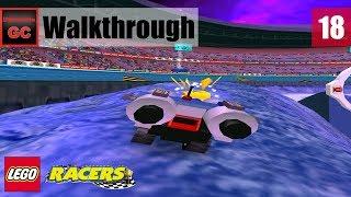 Lego Racers 2 [#18] - Xalax All Gold Bricks || Walkthrough