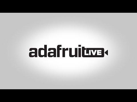 #deskofladyada LIVE! @adafruit Motor Samples!
