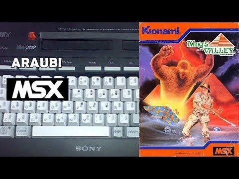 King's Valley (Konami, 1985) MSX [058] El Kiosko