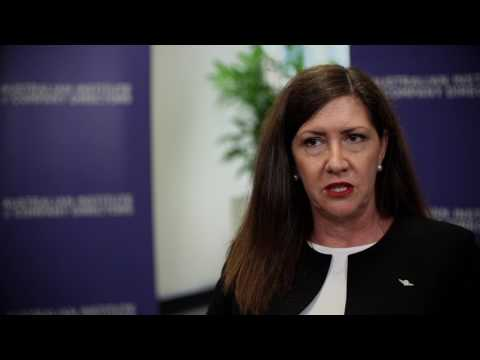 Ra Stewart talks about studying with AICD