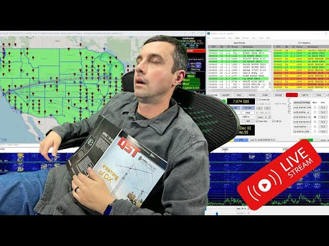 How I like to FT8 (LIVE intro to FT8)