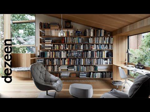 Ten living rooms with statement shelving | One-minute videos | Dezeen