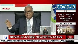 Ocupadas el 89 % de las camas  en Santiago
