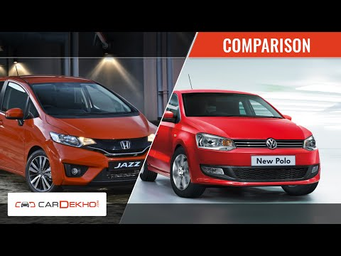 Honda Jazz Vs Volkswagen Polo | Comparison Video | CarDekho.com
