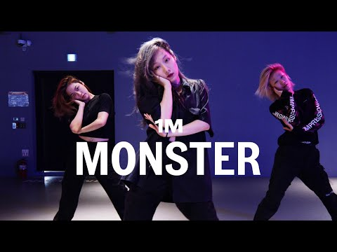 Red Velvet IRENE & SEULGI - Monster / Woonha Choreography