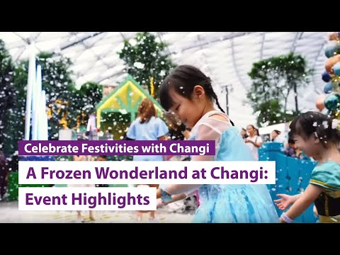 A Frozen Wonderland at Changi (2019): Event highlights