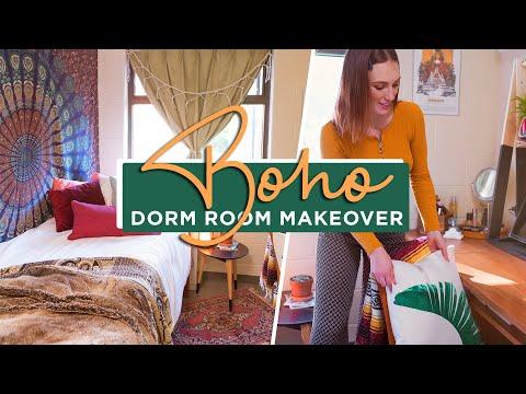 Boho Dorm Room Makeover!?