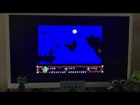 Zombie Calavera Prologue crazy hack on the Commodore 64