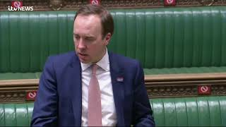 Live: Matt Hancock gives Covid update in House of Commons