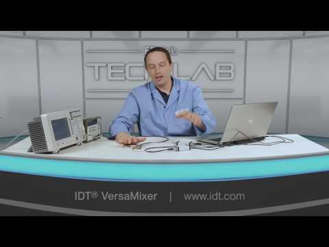 IDT Versamixer RF IF Mixer Demonstration
