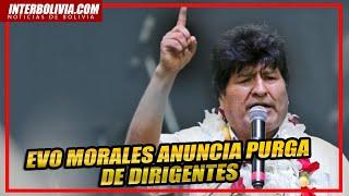 ???? Morales anuncia freno al