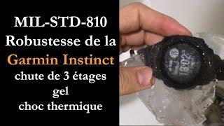 vidéo test Garmin Instinct par Montre cardio GPS