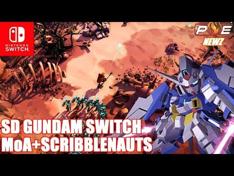 Nintendo Switch - SD Gundam G-Gen, Scribblenauts & Masters of Anima Announced for Switch!