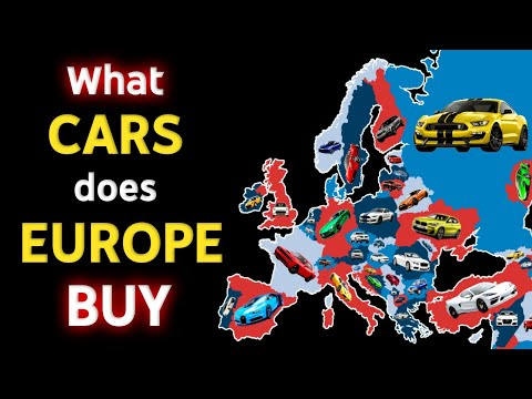 Europe's Most Popular Cars!