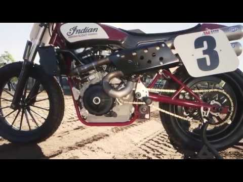 Indian Motorcycle Turns Flat Track on its Head with the Scout FTR750 at Santa Rosa Mile