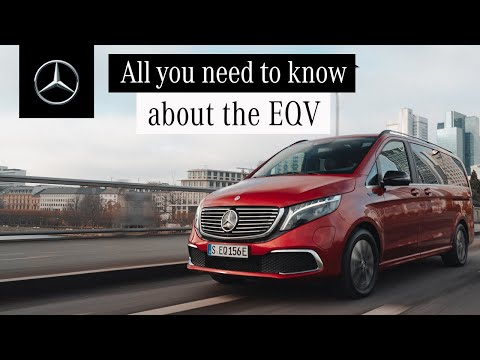 The EQV | Get to Know the Fully-Electric Premium MPV