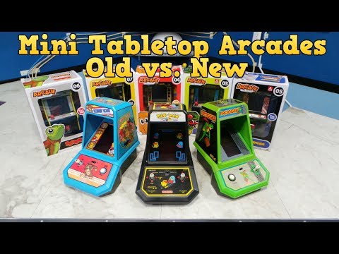 Mini Tabletop Arcades - Old vs. New