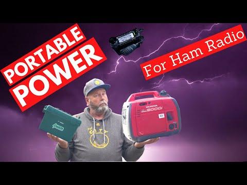 Portable Power for Ham Radio.