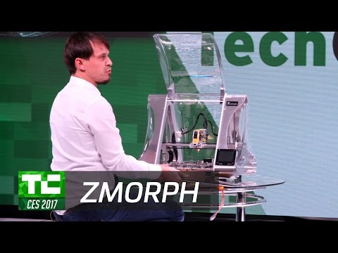 ZMorph: A Desktop Manufacturing Swiss Army Knife at CES 2017
