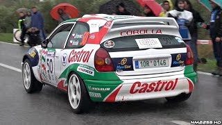 1997 Toyota Corolla WRC LOUD Anti-Lag, Backfires  Sounds!