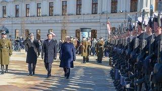 Prezidentė dalyvauja ceremonijoje Liublino unijos 450 m. jubiliejui paminėti