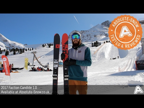 2016 / 2017 | Faction Candide 1.0 Skis | Video Review