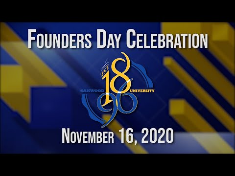 Founders Day Celebration 2020