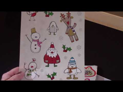 Flexo : Christmas Tags and Window Cling