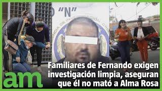 Fernando no mató a Alma Rosa Barragán en Moroleón, familiares muestran videos como supuesta prueba