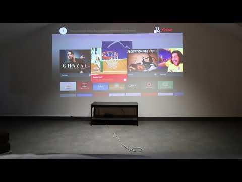Vidéo-projecteur XGIMI H1 lumière ambiante
