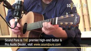Mojave MA200 Tube Mic Demo -- How to Record Acoustic Guitar