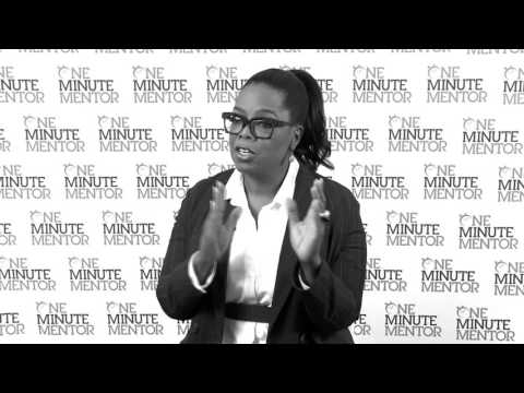 Hearst One Minute Mentor: Oprah Winfrey on Change