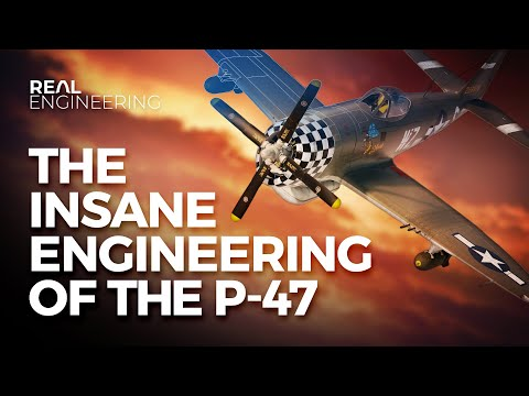 The Insane Engineering of the P-47 Thunderbolt