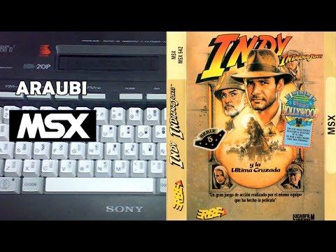 Indiana Jones y la ultima cruzada (US Gold, 1989) MSX [157] Walkthrough Comentado