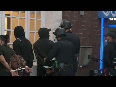 US: Police make arrests in Santa Monica | AFP