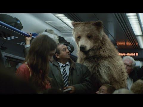 The Center Parcs TV Advert - Bears - short/highlights