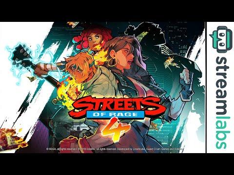 Streets of Rage 4 & Mario 3D World Deluxe