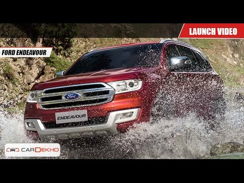 Ford Endeavour | Launch Video | CarDekho.com