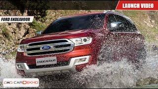 Ford Endeavour | Launch Video | CarDekho.com