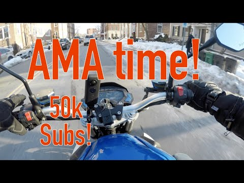 AMA Ask Me Anything (50k subscribers!)