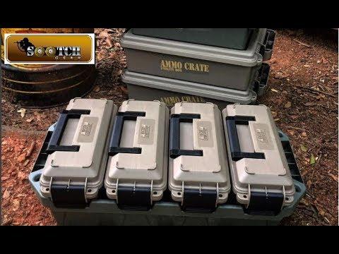 Organize Your Gear! New MTM Case Gard Crates