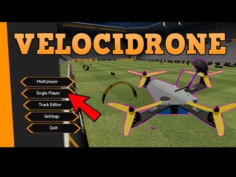BECOME A BETTER PILOT! Practice on an FPV SIMULATOR. Velocidrone review.