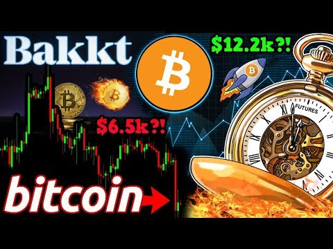 BITCOIN BREAKDOWN!? BTC Miners Defend $6.5k PRICE Level! Bakkt Testing BEGINS!