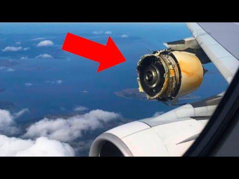 У Самолета Отказали Все Двигатели, то, что Сделал Пилот Поразило Всех