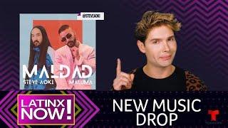 Shakira and Anuel AA Shock the World While Maluma and Aoki Team Up   Latinx Now!   Telemundo English